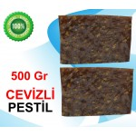 Cevizli Pestil 500 gr  - Not: Gr oranı küsüratlıdır...