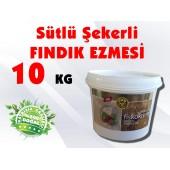 ŞEKERLİ SÜTLÜ FINDIK EZMESİ 10 KG