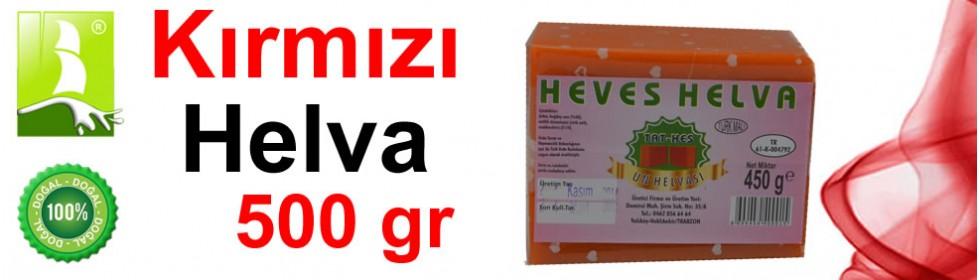Kırmızı Helva 500 Gr