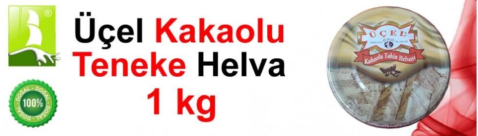 Üçel Kakaolu 1 kg Teneke Helva